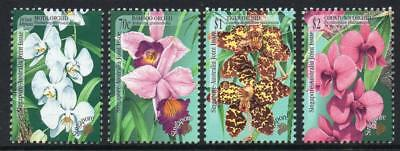 SINGAPORE MNH 1998 Orchids - Joint Issue with Austria