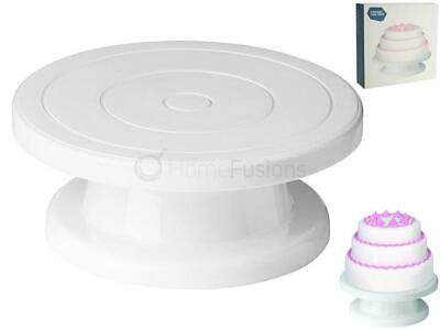 Cake Decorating Turntable Stand Rotating Revolving Icing Kitchen Display 28Cm