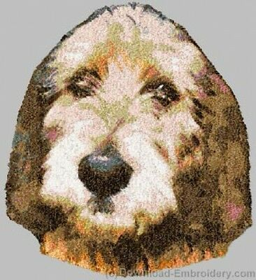Embroidered Fleece Jacket - Otterhound DLE2497 Sizes S - XXL