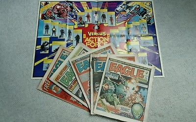 Eagle & Scream Comics (From 1984) (Dan Dare Doomlord)  Free P&P (Now Only £6.49)
