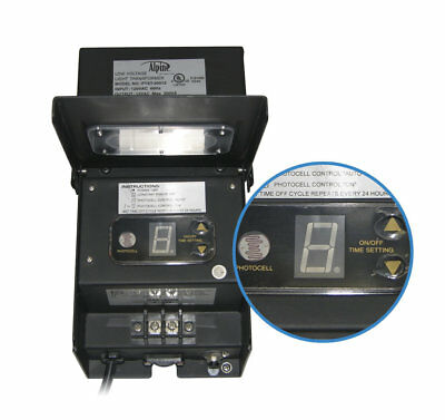 Alpine 300 Watt Transformer with Timer and Photo Cell
