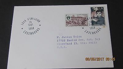 Six First Day Covers. Older. Addressed.
