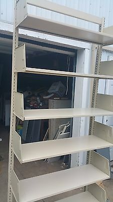 library shelving Cantilever Single sided - can be shipped common carrier