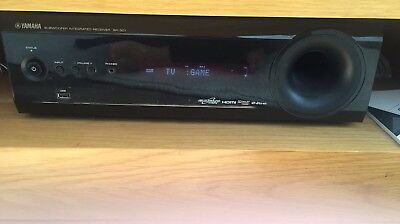 YAMAHA 7.1 Virtual Sound HOME CINEMA SURROUND (RECEIVER SR-301 AND SOUND BAR)