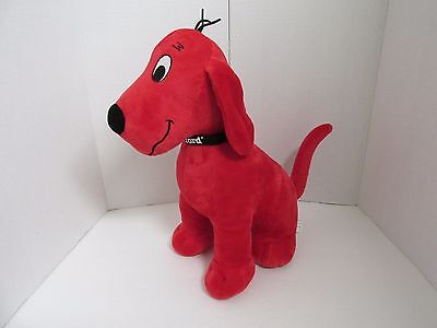 """Clifford 13"""" Tall Kohls Color Red Euc"""