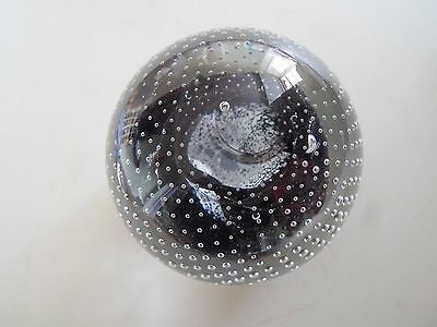 Pretty Caithness Cauldron Paperweight Etched to the Base With Maker & G90167