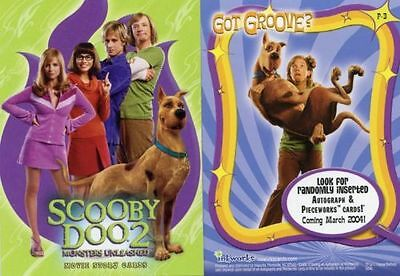 Scooby Doo :  Promo Cards Various  ...select /choose