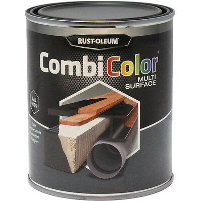 Rust-Oleum Combicolor Multi-Surface Peinture Noir Brillant 2.5L Ral 9005