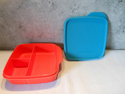 2x tupperware pausenbox clevere pause brotdose gr n. Black Bedroom Furniture Sets. Home Design Ideas