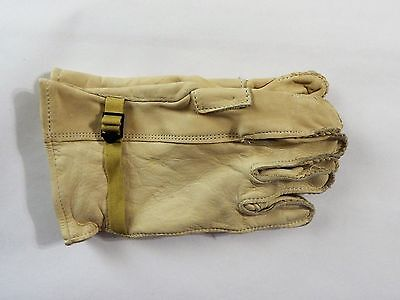 Heavy Duty Cattlehide LEATHER GLOVES Military Made in USA Sz 5 XL NEW