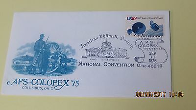 Five American Philatelic Society  Covers (APS) 1975 Convention/1969 Convention.