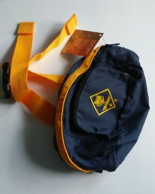 New With Tags Boy Scout Cub Scout  Camping Fanny & Hip Pack With Belt