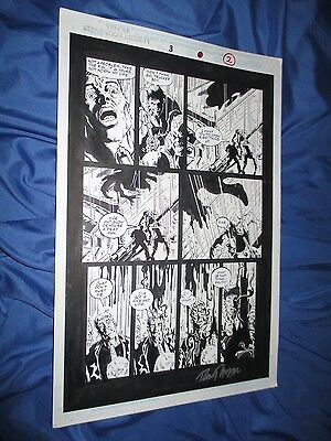 VENOM: SEPARATION ANXIETY #3 Original Art Page #2 by Ron Randall (Spiderman)