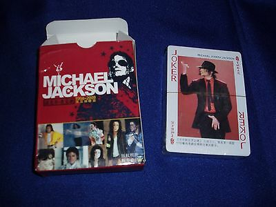 Michael Jackson Playing Cards   New/Sealed