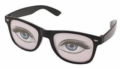 Party Glasses with Female Eyes