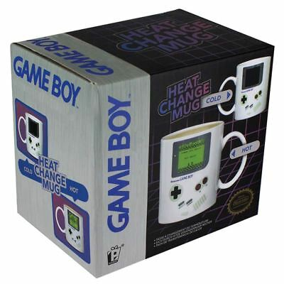 Officially Licensed Nintendo Game Boy Design Heat Change Coffee Mug Cup