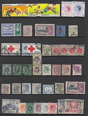 HONG KONG group of sets and oddments, MNH / MH / USED