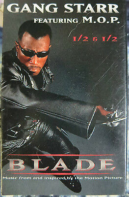 BLADE - Gang Starr Featuring M.O.P. 1/2 & 1/2 - Audio Cassette Music from Movie