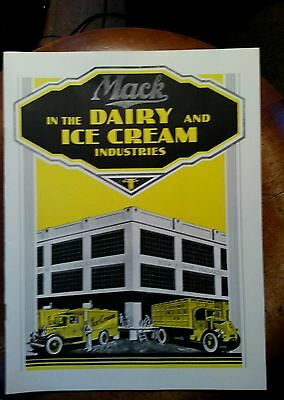 Mack Truck Book Mack Trucks In The Dairy And Ice Cream Industries