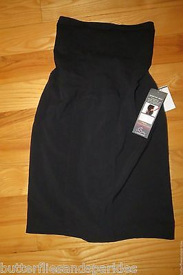 NWT WOMENS Oh Baby MOTHERHOOD Maternity Secret Fit Belly BLACK SKIRT SIZE S SMAL
