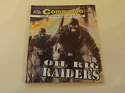 Commando War Comic Number 4237!!,2009 Issue,good For Age,08 Years Old,v Rare.