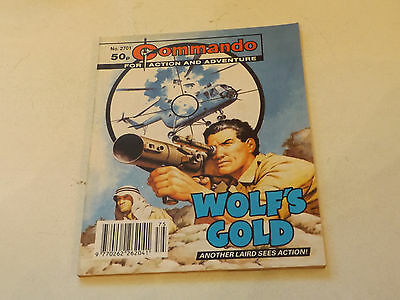 Commando War Comic Number 2701!!,1993 Issue,v Good For Age,24 Years Old,v Rare.