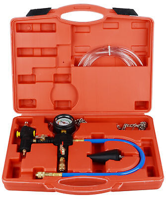 Professional Radiator Cooling System Vacuum Purge Coolant Refill Tool Kit Set