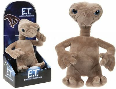 OFFICIAL E.T ET THE EXTRA TERRESTRIAL 20cm PLUSH SOFT TOY NEW IN GIFT BOX