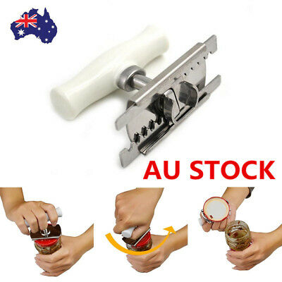 Creative Bottle Jar Can Lid Opener Convenient Kitchen Tool ABS Stainless Steel