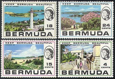 Bermuda 1971 Lighthouses/Harbour/Bay/Maritime Safety/Buildings/Tourism 4v n41597