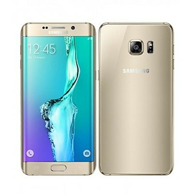 Doré Samsung Galaxy S6 edge G925A 32Go 4G Smartphone 5,1'' Android Octacore 16Mp
