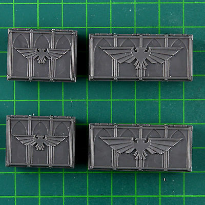 4 Supply crates Warhammer 40K Bitz 10169