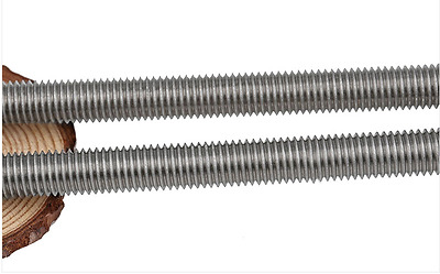 Threaded Rod 304 Stainless Steel Screw X1PCS M2 M2.5 M3 M4 M5 M6 M8 M10 M12