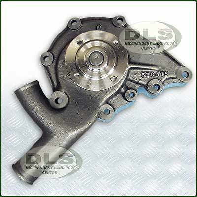Water Pump Assembly 9 Hole with Gasket Land Rover Series 2a/3 4cyl (STC3758)