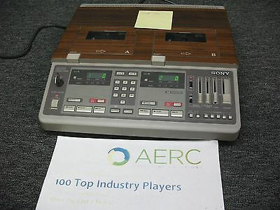 Sony BM-246 transcriber recorder BM246 - powers on/issues - LOCATION 5-C