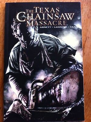 Texas Chainsaw Massacre Graphic Novel Abnett Lanning Craig. Wildstorm Comics