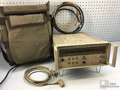 5347A HP AGILENT MICROWAVE COUNTER POWER METER 10Hz TO 10GHz