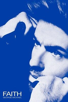 GEORGE MICHAEL ~ FAITH ~ 24x36 Music Poster ~ NEW/ROLLED!