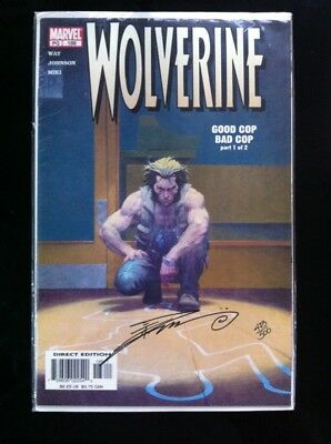 Wolverine Good Cop Bad Cop Signed By Danny Miki With COA Comic Book Marvel