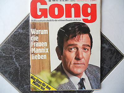 Gong 50/1971 TB:Mannix Mike Connors/Seewolf Raimund Harmstorf/Conny Froboess!
