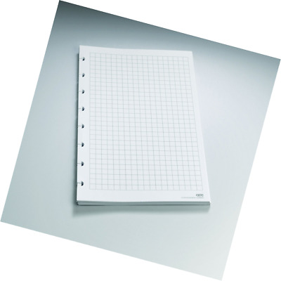 Staples? Arc Notebook Filler Paper, Junior-sized, Graph-Ruled, White, 50 Sheets