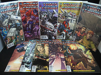 TRANSFORMERS INFILTRATION 0 1 2 3 4 5 6 All 4 Issue #0 Variant Covers -10 Comics