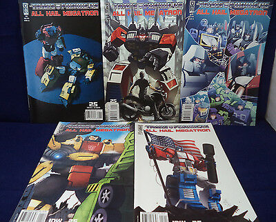 TRANSFORMERS ALL HAIL MEGATRON 8 9 10 11 12 Casey Coller Variant Cover A IDW