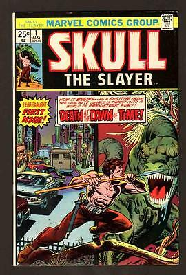 Skull The Slayer 1 9.0 Vfnm 1975 Marvel White Paper High Grade