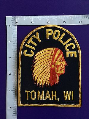 Tomah Wisconsin  Police  Shoulder Patch