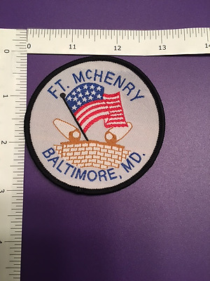 FT. McHENRY BALTIMORE MARYLAND  SOUVENIR PATCH