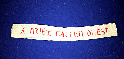 T RARE vintage 1990's Tribe Called Quest PROMO HEADBAND SWEATBAND