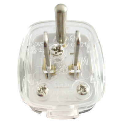 AC POWER Travel Adapter Converter Plug US Plug 5-15P AC Power 3 Pin Plug White