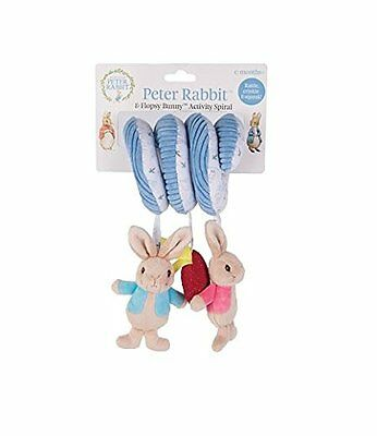 Rainbow Designs Peter Rabbit Baby Cot or Pram Plush Activity Spiral  NEW