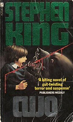 Cujo by King, Stephen Paperback Book The Cheap Fast Free Post